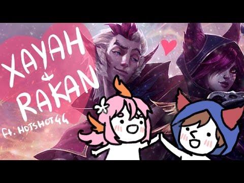 【LoL】Xayah&Rakan ft. hotshotgg♡ 🐦🐦