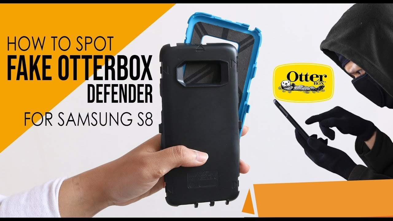 uk availability 91616 a63b9 How to Spot Fake Otterbox Defender for Samsung Galaxy S8