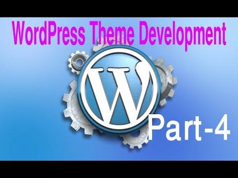 WordPress Theme Development (part 4)