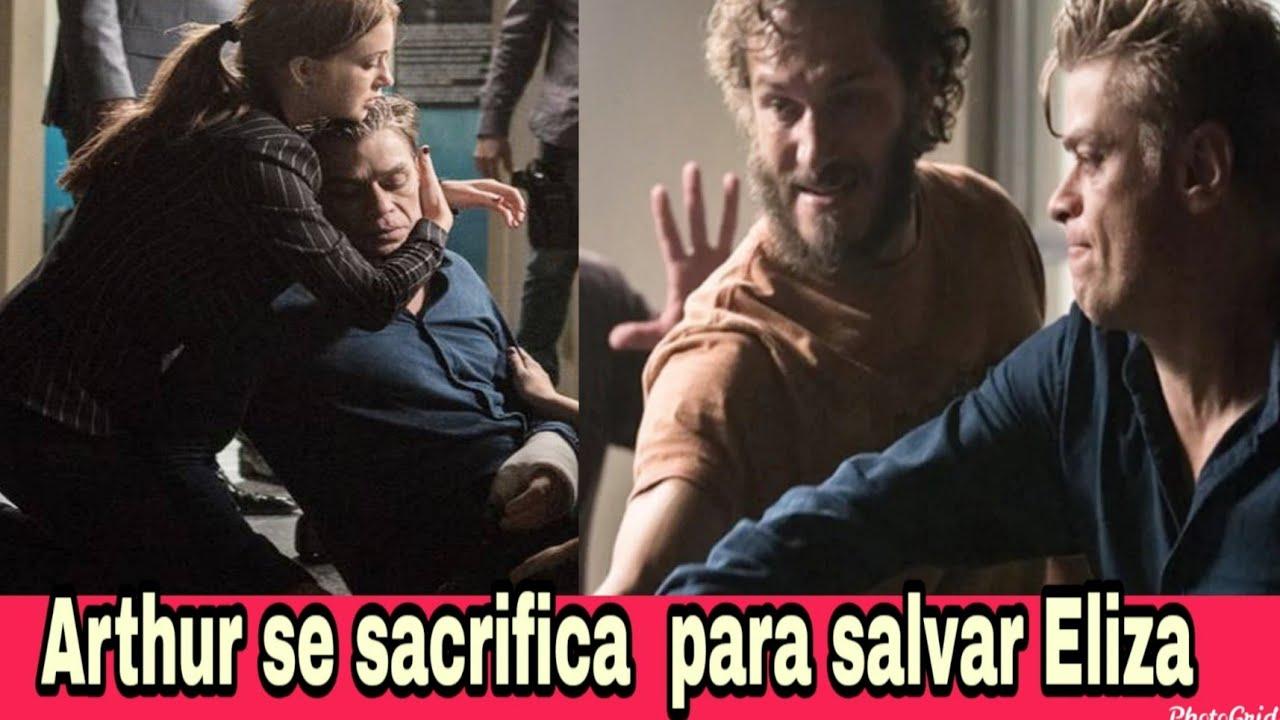 Arthur sacrifica a vida para salvar Eliza Totalmente Demais