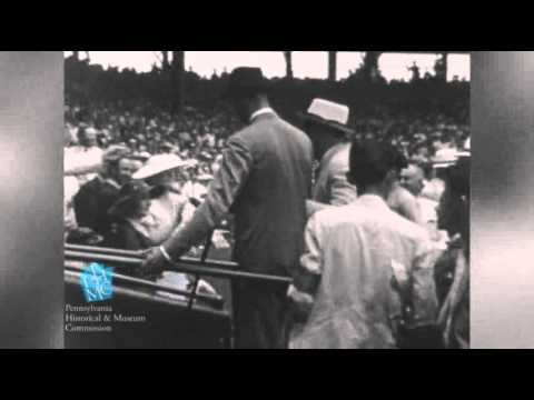 Rare Footage of FDR Walking Donated to PA