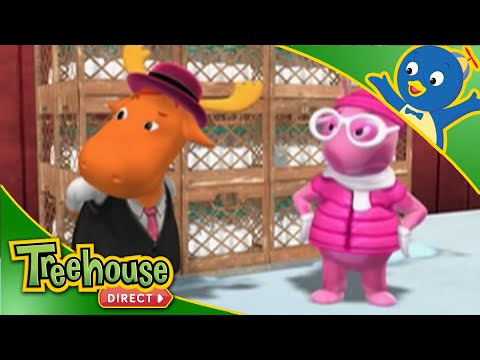 The Backyardigans | International Super Spy Part 1 & 2! | Cartoons for Children By Treehouse Direct