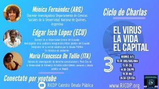 El virus, la vida, el capital - 3º Sesión - RICDP