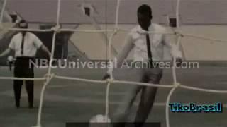Pelé ● New Footages 11 ● New 1 Goal
