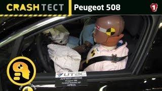 Peugeot 508. Краш-тест. (УКР)(Peugeot 508 (рус. Пежо 508) — автомобиль французской компании Peugeot, входящей в концерн PSA Peugeot Citroën. Начало выпуска..., 2012-02-08T16:33:46.000Z)