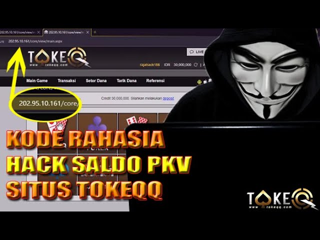 Cara Terbaru Hack Saldo Pkv Pakai Kode Rahasia Di Tokeqq Youtube