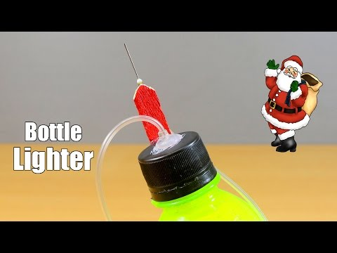 Thumbnail: How to make a lighter using plastic bottle - Bottle Life hacks