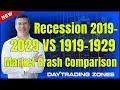 Recession 2019-2029 vs 1919-1929 Stock Market Crash Similarities