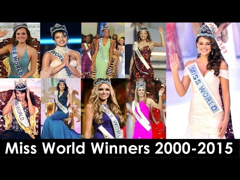 Miss World Winners 2000-2015