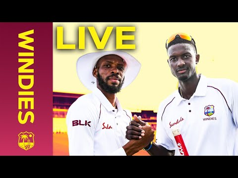 LIVE FULL Replay   Windies v England 1st Test Day 4 (2019) - FULL DAY   Windies