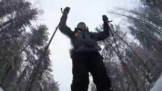 Лыжный автономный соло поход. Пять ночевок..