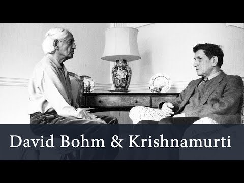 J. Krishnamurti - Brockwood Park 1983 - Conversation 1 with D. Bohm - Is there an action...