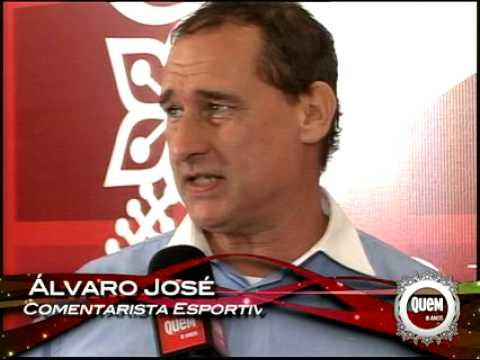 Álvaro José fala sobre seu trabalho na Band - Festa da Quem Acontece 8 anos