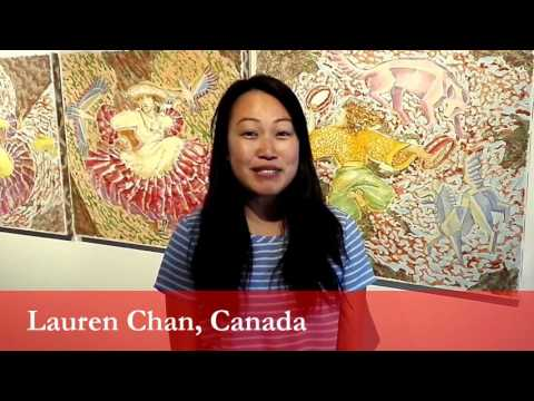 Lauren Chan, student from Canada at the University of Ljubljana