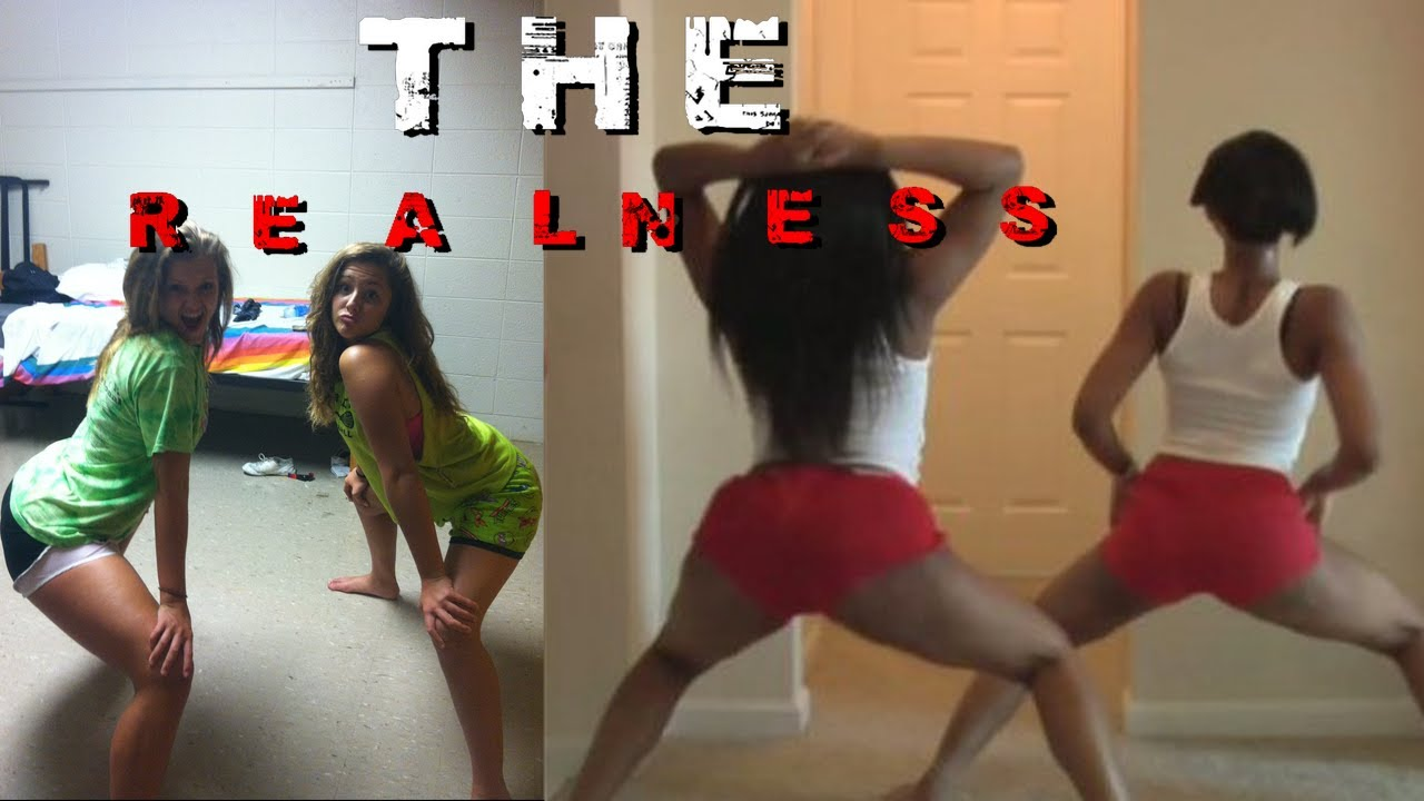 Hot Black Girl Twerks
