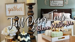 EXTREME CLEANING MOTIVATION/FALL DECOR TOUR/KEEPING A CLEAN HOME WITH PETS-2018
