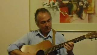 Acoustic Guitar - Blue Spanish Eyes - Unplugged - Triarchos