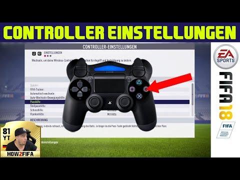 FIFA 18 Controller Einstellungen Tutorial | Die Steuerung Perfekt Anpassen & Konfigurieren (deutsch)