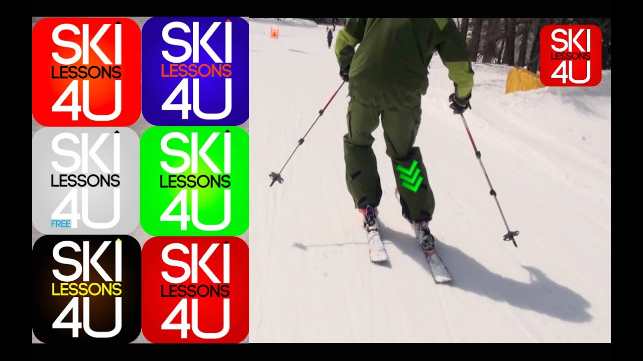 Advanced ski lessons carving progression how to