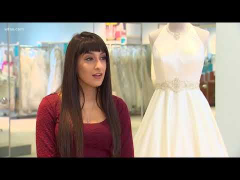 Bankrupt bridal gown store back open