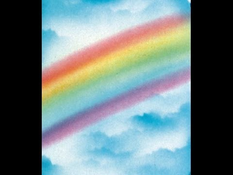Cake Decorating Airbrush Part 5 Easy Airbrush Rainbow