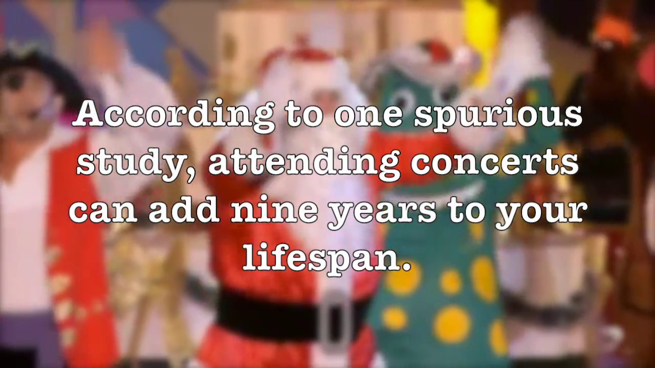 Going to music concerts can extend your life span - YouTube