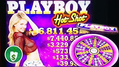 Playboy Hot Shot slot machine, multiple bonus