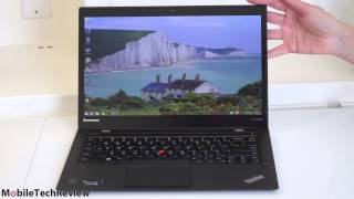 видео Lenovo ThinkPad X1 Carbon Touch 2014 Review