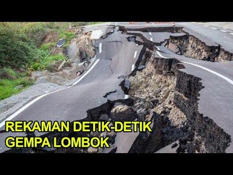 Rekaman Detik-detik Gempa Lombok Utara