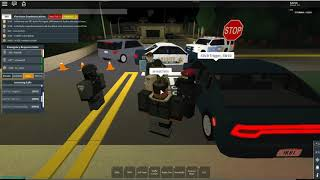 ROBLOX | Firestone DHS Patrol (Hydra Gang Breaking into Prison)
