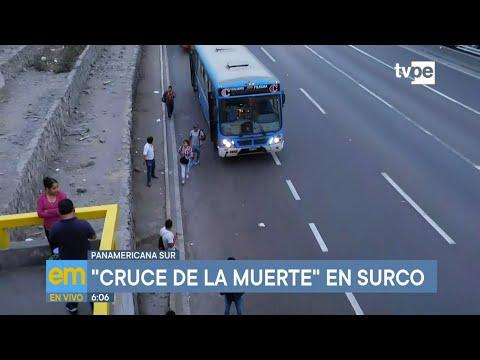 Panamericana Sur: Identifican Intersección Vial Peligrosa En Surco