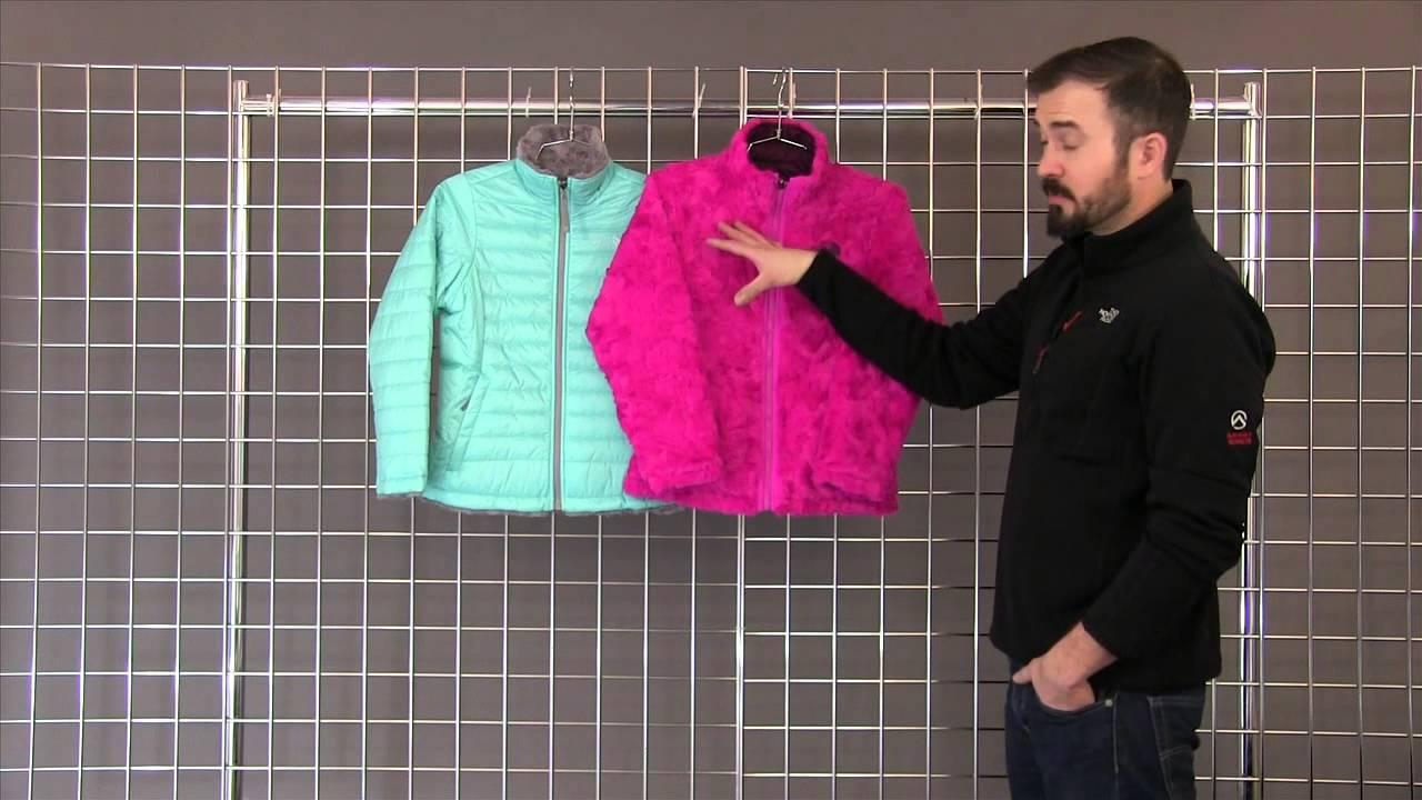 caa118f0b0ca The North Face Girls Reversible Mossbud Swirl Jacket 2014-2015