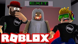 GRANNY IN ROBLOX???!!! THE SCARY ELEVATOR