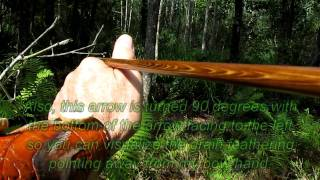 Traditional Archery Wood Arrows - Get The Grain Of The Arrow Going The Right Direction.m2ts