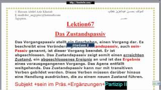 "Lektion67""Zustandspassiv"""