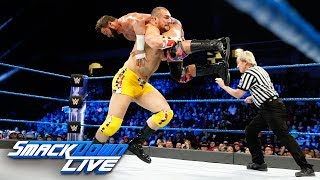 Zack Ryder vs. Mojo Rawley - U.S. Title Tournament First Round Match: SmackDown LIVE, Jan. 9, 2018