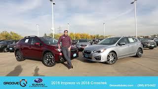 2018 Subaru Crosstrek vs 2018 Subaru Impreza: what's the difference?