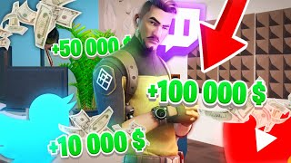 DEVENIR LE PLUS GRAND YOUTUBEUR FORTNITE avec JEANFILS !
