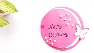 How To Make Birthday Card For Besty//Diy Handmade Card Tutorial ....