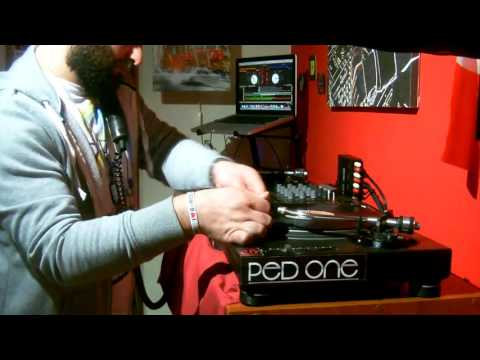 Dj Ped One...Video 3 @ Red Room STUDIO - Naples - ITALY - March 2017