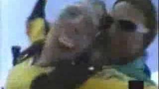 FUNNY - Granny Sky Diving loses TEETH!