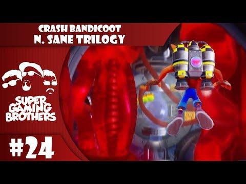 SGB Play: Crash Bandicoot N.Sane Trilogy - Part 24 | Oh Woe is Jet-Pack