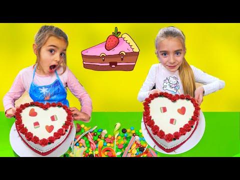 Las Ratitas Claudia y Gisele hacen un pastel sorpresa para Sant Valentin