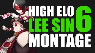 TheDarkTongo High Elo Lee Sin Montage 6 - Best LoL Plays 2015