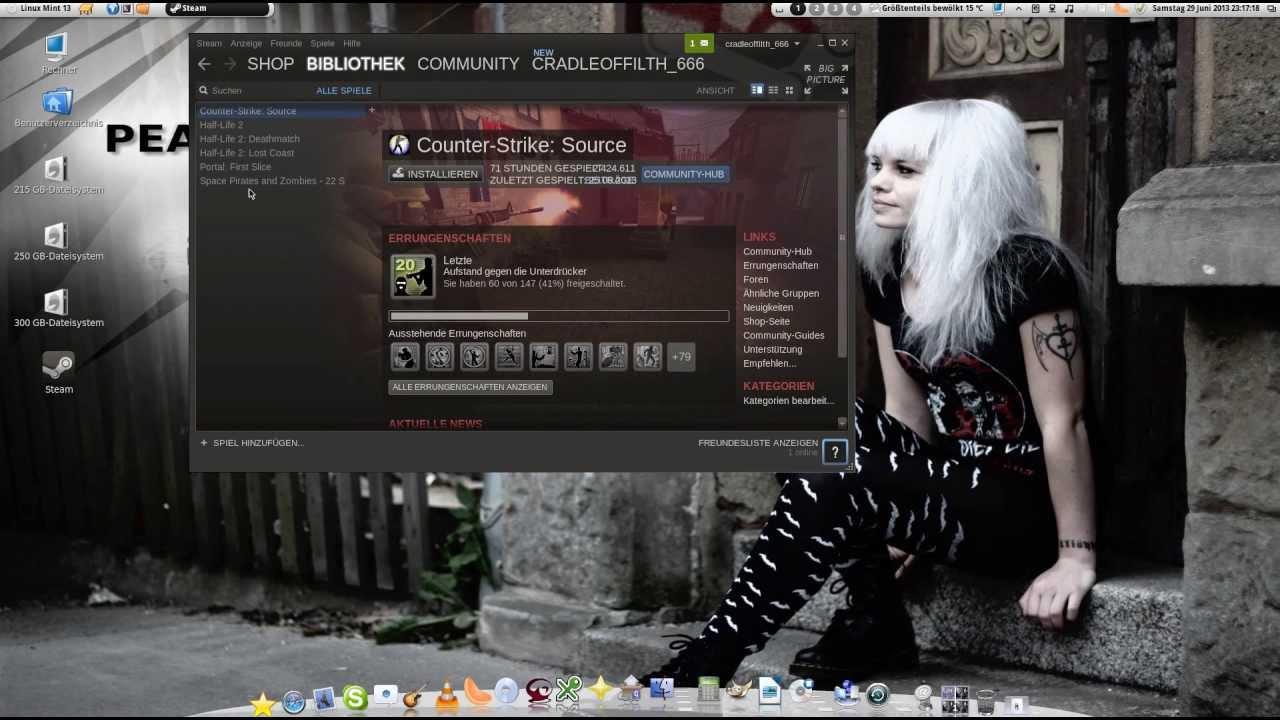 Linux und Spiele: Steam unter Linux Mint 13 (Maya ...