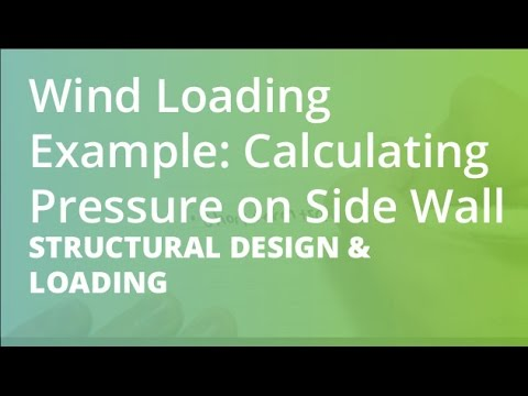 Wind Loading Example: Calculating Pressure on Side Wall   Structural Design  & Loading