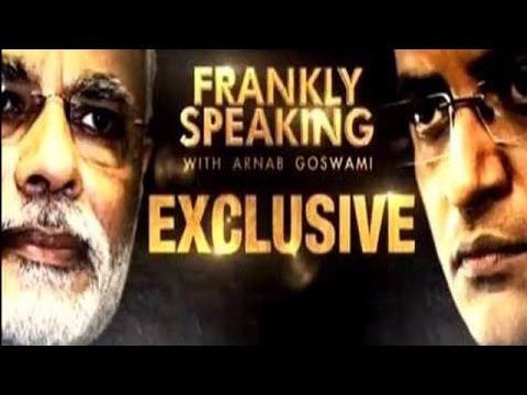 First Interview Since Narendra Modi Took Over as the Prime Minister - Frankly Speaking