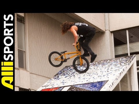 BMX with Coco Zurita in Santiago Chile for a Day, Alli Sports