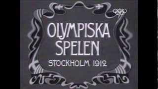 All Five Continents Together - Stockholm 1912 Olympic Games Highlights