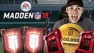 PUSHING FOR TOP 100 MADDEN 18 WEEKEND LEAGUE FINAL GAMES! NEW SPONSOR EMOTE! thumbnail
